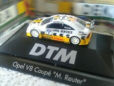 "HERPA DTM 1/87 OPEL V8 COUPÈ ""M.REUTER"", MINT IN BOX"