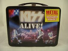 Kiss Alive Neca lunch box with drink container