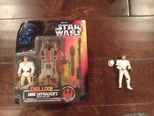 Star Wars Deluxe Luke Skywalker and Mail In Han Solo Stormtrooper Disguise