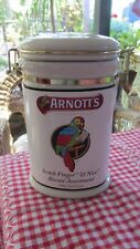 Arnotts China Biscuit Canister,Scotch Finger & Nice