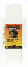 Bassett Barratt Jurassic Park Candy stick slide mint unfolded Muldoon Profile