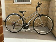 Ridgeback Bike Speed Step Through Silver colour Size XS, slightly used condition