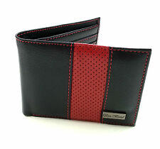 Icon 77 Brand All Bi-Folds Wallet Red & Black Army