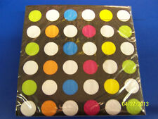 70's Decades Disco Dance Polka Dot Theme Retro Birthday Party Beverage Napkins