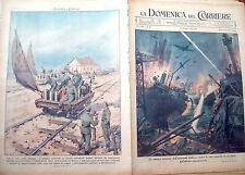 151) 1943 AEREI ITALIANI DI NOTTE IN AFRICA E STEPPA RUSSA DOMENICA DEL CORRIERE