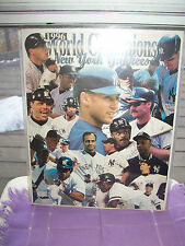 NEW YORK YANKEES 1996 WORLD CHAMPS BASEBALL-PICTURE SEALED IN HEAVY PLASTIC