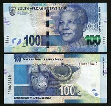 South Africa 100 Rand , ND 2013 2016 ,UNC , P-141a , Sign Gill Marcus , Mandela