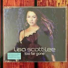 Lisa Scott-lee - Too Far Gone Maxi CD Single Remixes Cd1 Includes Video Steps