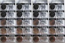 Lot of 25 PC ENERGIZER CR2016 WATCH BATTERIES 3V LITHIUM CR 2016 Coin ECR2016