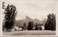 Hospital and Nurse's Home Hazelton BC New Build 1930s RPPC Postcard E20