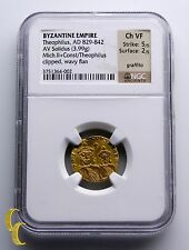 Gold Hyperpyron Byzantinisch Reich Münze Ausgewählten D Manuel I 1143-1180 A
