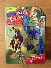 1994 Earthworm Jim Princess What's Her Name Action Figure, Playmates,Moc (B22)