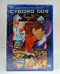 Cyborg 009 - Uncut and Unedited (DVD, 2004, 2-Disc Set, Widescreen/Uncut)