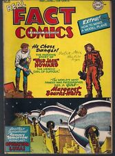 REAL FACT COMICS #8 DC 06/47 2nd APPEARANCE TOMMY TOMORROW FAMOUS DISASTERS VF-
