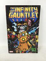 Marvel Comics The Infinity Gauntlet TPB Jim Starlin Thanos Avengers 1 2 3 4 5 6