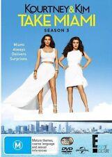 KOURTNEY & KIM TAKE MIAMI SEASON 3  -  DVD - Region 2 UK Compatible -  sealed