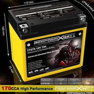 YTZ7S AGM Gel Battery Yamaha AG200 FE XT225 TTR230 XT250 WR450F WR250F WR250 R X
