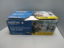 Brother TN-115Y YellowToner Cartridge DCP-9040CN Genuine New Open Box Sealed Bag