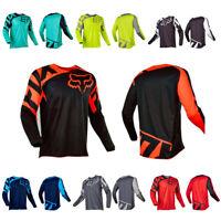 Men FOX Race Riding Jersey Motocross/MX/ATV/BMX/MTB Dirt Bike Adult  Long Sleeve