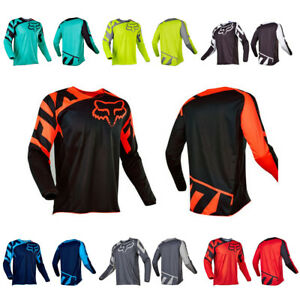 Men FOX Race Riding Jersey Motocross/MX/ATV/BMX/MTB Dirt Bike Adult  Long Sleeve