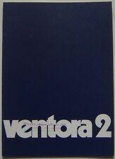 Vauxhall Ventora 2 FD 3300 1970-71 Original UK Sales Brochure No. V1981 Victor