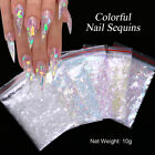 Nail Art Colorful Flakes iridescent Irregluar Nail Glitter Sequins Decoration