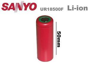 Sanyo Li-Ion Einzelzelle A , UR18650F R05K 3.7V1500mAh