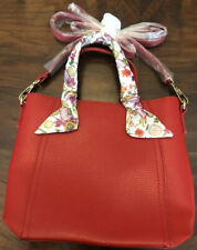 Nwot Estee Lauder Red Crossbody Purse Bag Faux Leather. A Real Beauty! A Must!