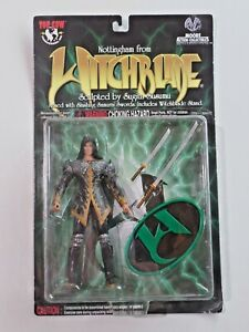 Nottingham From Witchblade Action Figure Samurai Swords NIP Moore Collectibles