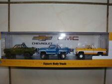 M2 Machines * Chevrolet Square Body Truck * Walmart Exclusive 3-Truck Sets !