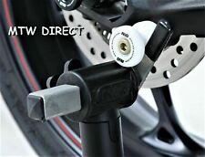 Honda CBR600RR 2005 R&G Racing WHITE  8mm Cotton Reels  Paddock Stand Bobbins