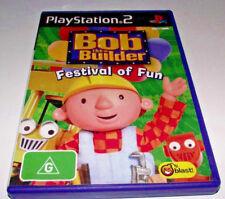 Bob the Builder Festival of Fun PS2 PAL *No Manual*