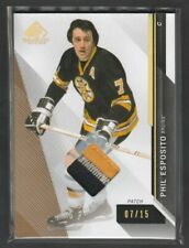 2014-15 SP Game Used Phil Esposito Patch 07/15 Jersey Number