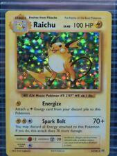 Pokemon XY Evolutions Raichu Holo Rare #36/108 Y188