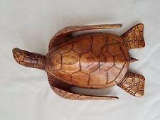 HONU Turtle Carving wood  Animal Sculpture Art
