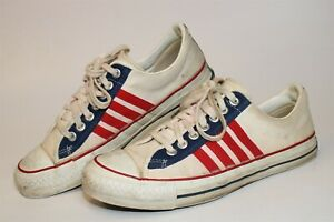 Converse Vintage 1960's RARE Mens 9.5 The Winner Canvas Sneakers USA Made Shoes