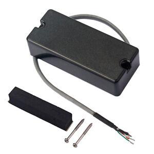 4 Saiter Bass Tonabnehmer   Humbucker Dual Coil Bass Tonabnehmer,