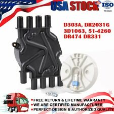 DR474 DR331 Distributor Cap w/ Rotor Kit For Chevrolet GMC Trucks Vortec V8 5.7L