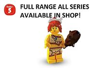 Lego minifigures cave woman series 5 (8805) unopened new factory sealed