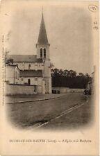 CPA  Huisseau-sur-Mauves - L'Eglise et le Presbytere  (632392)