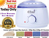 Hot Wax Warmer Heater Pot Machine Kit Salon Spa Hair Removal + 400g Waxing Beans