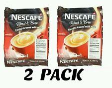 2 NESCAFE 3IN 1 Original/Regular 60ct Instant Coffee (2Packs) SALE!!