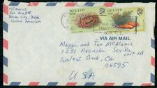 Mayfairstamps Belize 1987 Slogan Cancel to Us Airmail Cover wwh30519
