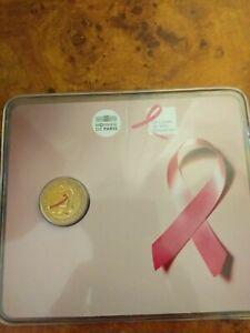 2 euro commémorative France 2017 BU - Ruban Rose/ Lutte contre le cancer du sein