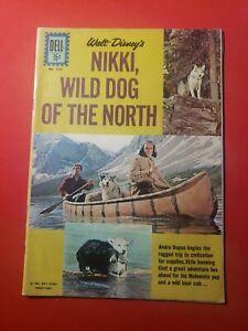 WALT DISNEY'S NIKKI WILD DOG OF THE NORTH DELL #1226 1961 VG/FN FREE SHIPPING