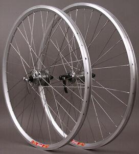 Velocity Dyad Shimano Dynamo Hub 36h 700c Road Cylcocross Gravel Bike Wheels HD