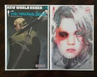 The Walking Dead #179A & 179B 2 Image Comics Kirkman Adlard & Stewart VARIANT!