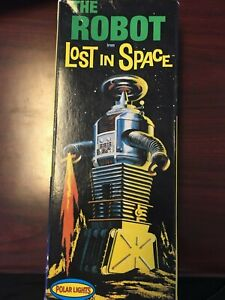 Polar Lights 1997 The Robot from Lost in Space Model Kit ==BOX ONLY==