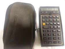 Vintage HP Hewlett Packard 41CX With Math Rom