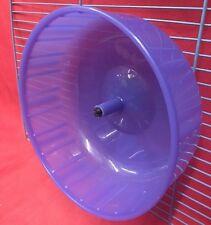 Esercizio CRICETO IN PLASTICA RUOTA 6 Pollici Clip Su SILENT Gerbillo Topo criceti nani